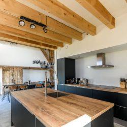 Beach barn, luxe en grote keuken